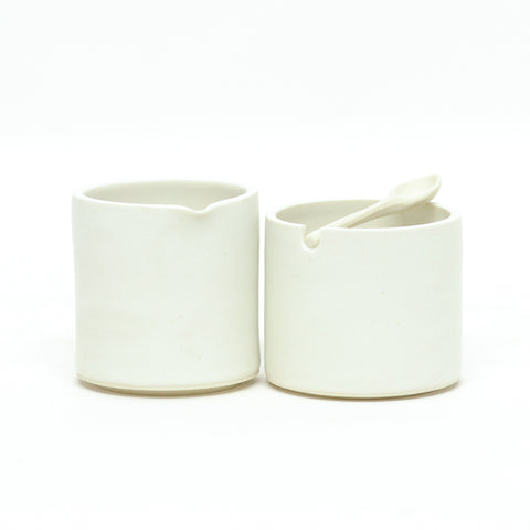 Perfect Pair Cream and Sugar Set by Sarah Steininger Leroux