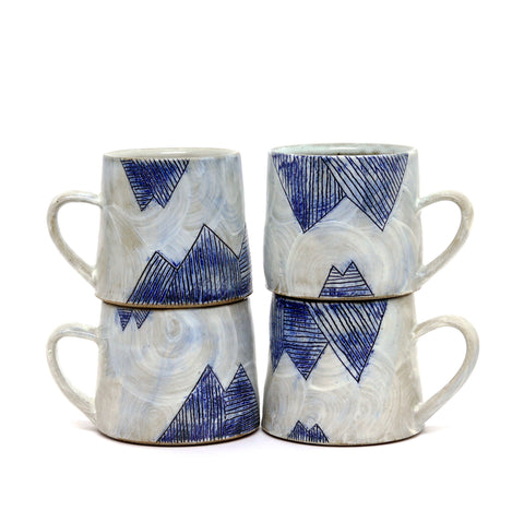 Mountain Mug by Sarah Steininger Leroux