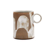 White Tall Shape Mugs by Sarah Steininger Leroux