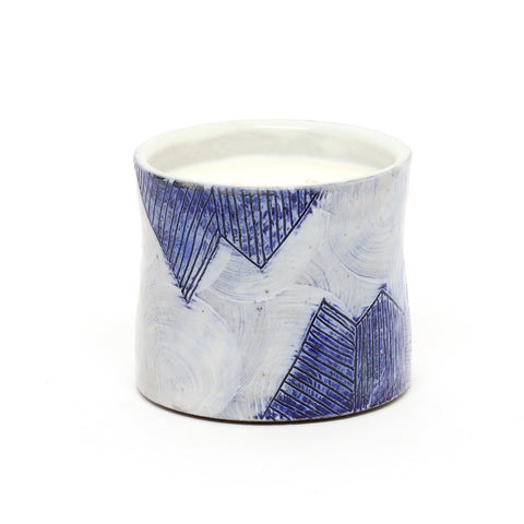 SSL X Particle Goods Mountain Candle by Sarah Steininger Leroux