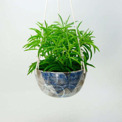Mountain Hanging Planter by Sarah Steininger Leroux