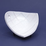 Grid Scoop Plate by Laura Skiles Bundy