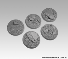 Load image into Gallery viewer, Magnetised Bases - Rock Plateau 40mm