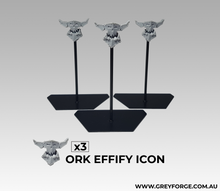 Load image into Gallery viewer, 3x Ork Effigy Icons
