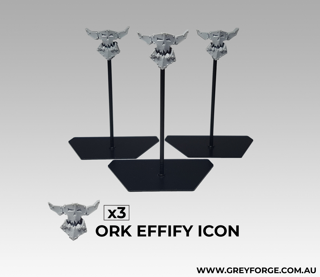 3x Ork Effigy Icons
