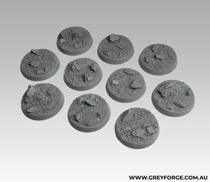 Magnetised Bases - Rock Plateau 32mm