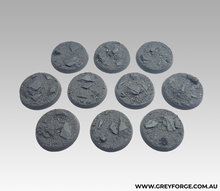 Load image into Gallery viewer, Magnetised Bases - Rock Plateau 25mm