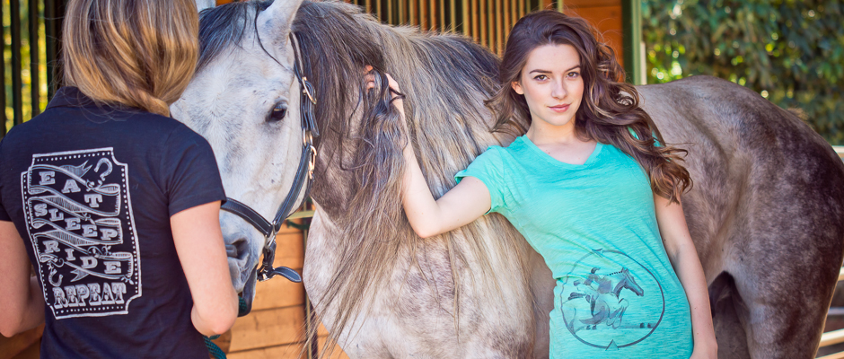 http://www.cowgirlsforacause.com/collections/summer-2014/products/live-love-ride-jump-v-neck-tee