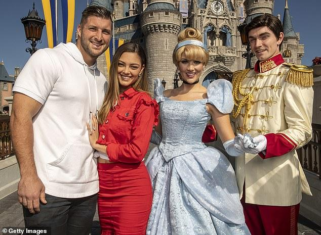 Tim Tebow is getting married aka he is being touched for the very first time
