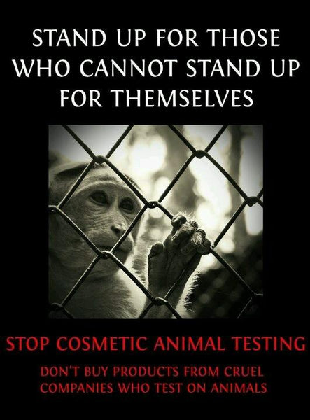 #DO NOT TEST ON ANIMALS WHO CANNOT STAND UP FOR THEMSELVES #KEEP IT NATURAL WITH BENECOS