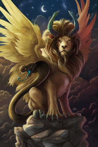 BUY BEAUTY TIPS™ (BLOG) with Beauty Myths™: #GREEK MYTHS #CHIMERA - A MONSTROUS CREATURE WITH PARTS FROM MULTIPLE ANIMALS #OMNI BABYLISS HAIRSTYLER