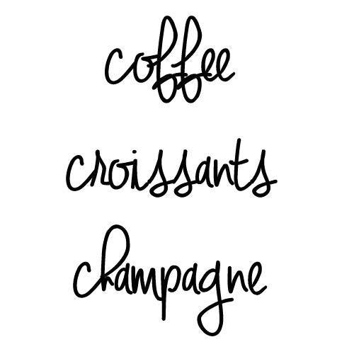 Coffee, Croissants and Champagne! You are the same when you are sleepy or hungry! Buy Beauty Products online Canada USA Global! Natural Hair Loss  NATURAL HAIR SHAMPOO FOR HAIR LOSS