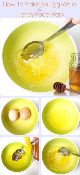 #Use egg whites for a DIY facial mask to tighten and lift your skin!