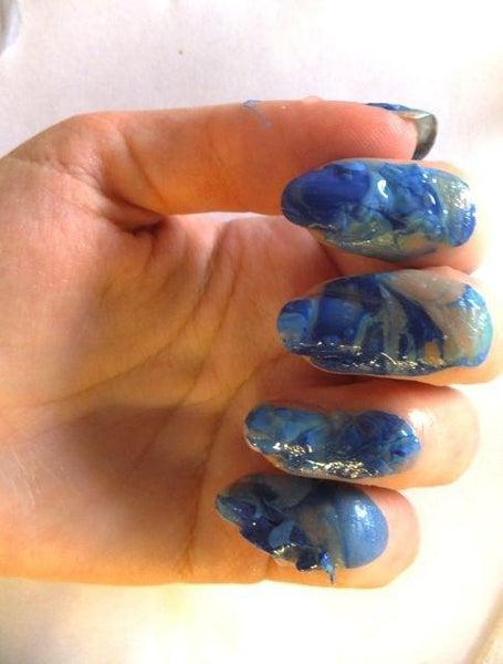 Buy Beauty Products brings you some EPIC BEAUTY FAILS: #Marble Nail Art that will not stick #Forgot to STICK THE LANDING