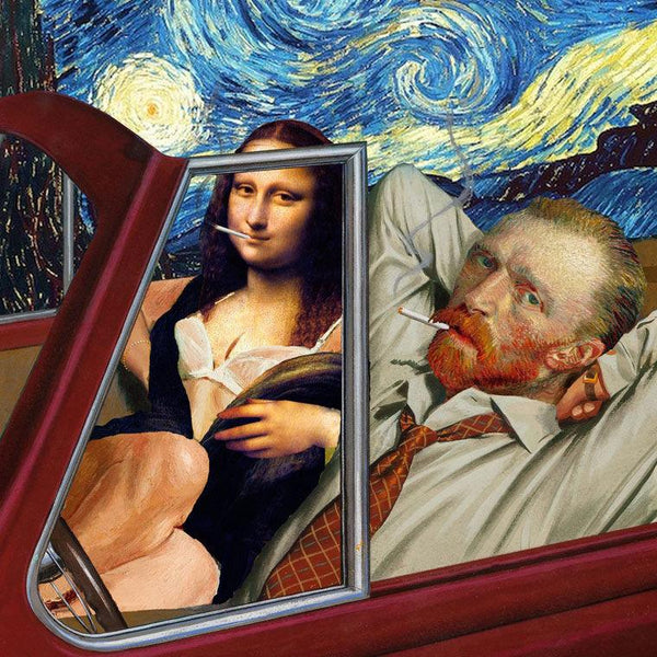 BUY BEAUTY TIPS™ (BUY BEAUTY PRODUCTS ONLINE BLOG) with Beauty Art™: #UNGOVERNABLE ART #VAN GOGH AND MONA LISA ROLLING IN A TIGHT WHIP #UNGOVERNABLE™: ESCAPE YOUR OPPRESSED STATE™