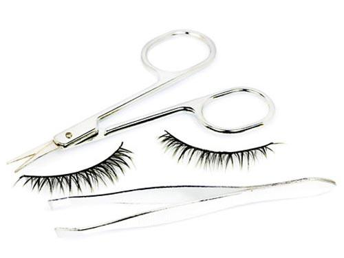BUY BEAUTY TIPS™ (BLOG): Upper lash line: false lashes! Fire it up with mirarcurl, hot tools and Reveal scissors!
