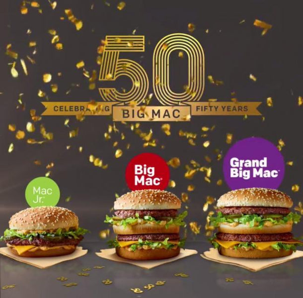Move over Bitcoin - here comes the MacCoin - Big Mac is 50!