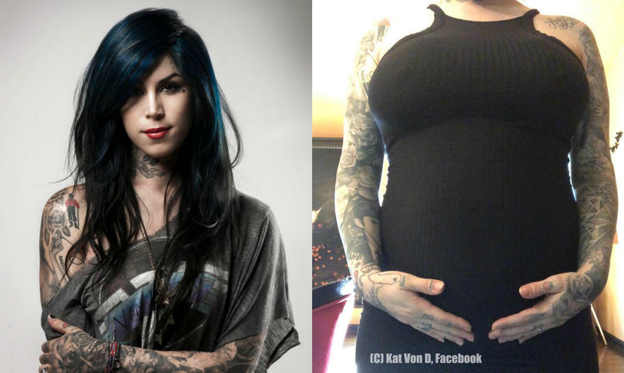 Kat Von D opposes vaccinations - and will raise son vegan