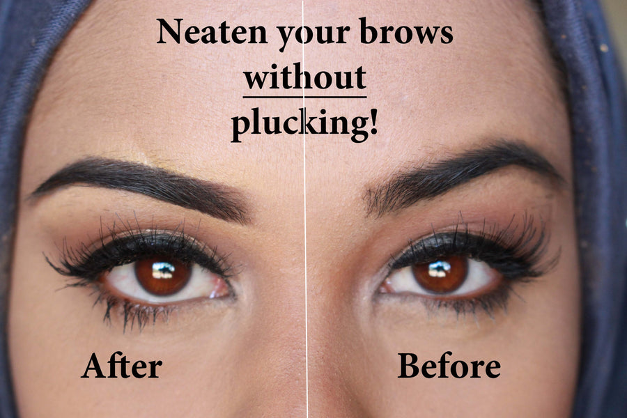 HOW TO PLUCK EYEBROWS - FROM HOME - BUY BEAUTY PRODUCTS BEAUTY TIPS