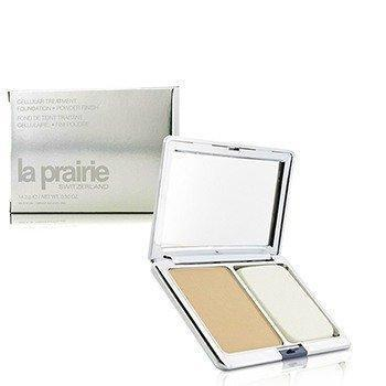 La Prairie | Cellular Treatment Foundation Powder Finish Sunlit Beige (New Packaging) 14.2g/15ml | - BEAUTY PRICE MATCH™