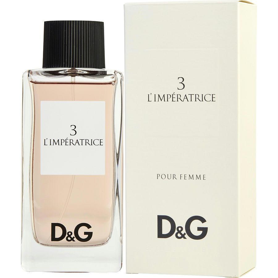 D & G | D & G 3 L'imperatrice By Dolce & Gabbana Edt Spray 3.3 Oz | ™ | BACK IN STOCK| Price Match Guaranteed™ - Price Match Guaranteed