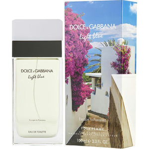 Dolce & Gabbana | Light Blue Escape To Panarea  Dolce & Gabbana Edt Spray 3.3 Oz (limited Edition) | ™| Price Match Guaranteed™ - Price Match Guaranteed