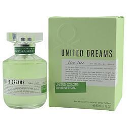 Benetton United Dreams Live Free By Benetton - Price Match Guaranteed