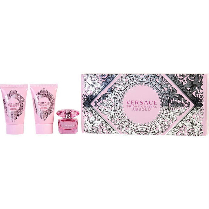 Gianni Versace Gift Set Versace Bright Crystal Absolu By Gianni Versace | - BEAUTY PRICE MATCH™