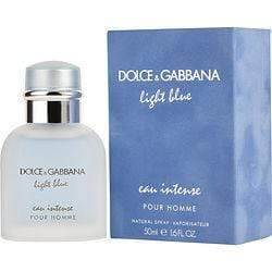 D & G Light Blue Eau Intense  Dolce & Gabbana EDP 1.6 Oz| Price Match Guaranteed™ - Price Match Guaranteed