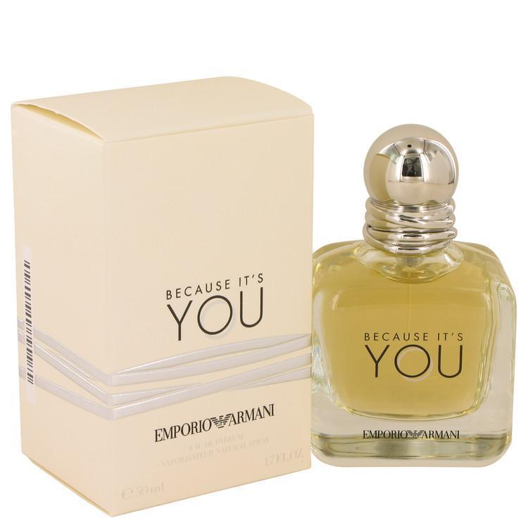 Because It's You  Emporio Armani EDP Spray 1.7 oz - BUY BEAUTY PRODUCTS