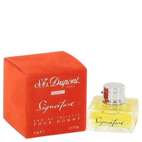 BEAUTY PRICE MATCH  SIGNATURE by St Dupont Mini EDT .17 oz for Men