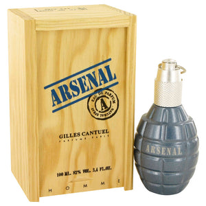 ARSENAL BLUE  Gilles Cantuel EDP Spray 3.4 oz - Price Match Guaranteed
