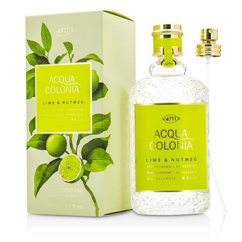 Acqua Colonia Lime & Nutmeg Eau De Cologne Spray - 170ml-5.7oz | LIMITED STOCK - beauty-price-match