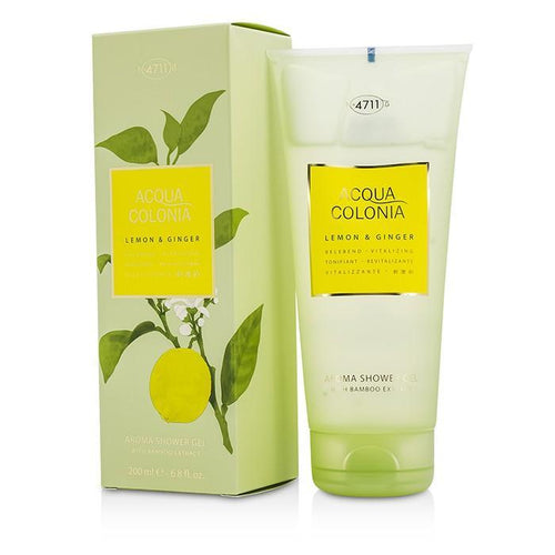Acqua Colonia Lemon & Ginger Aroma Shower Gel - 200ml-6.8oz | LIMITED STOCK - beauty-price-match