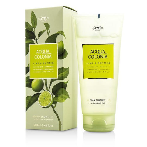 Acqua Colonia Lime & Nutmeg Aroma Shower Gel - 200ml-6.8oz | LIMITED STOCK - beauty-price-match