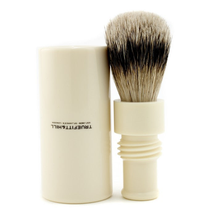 Turnback Traveler Badger Hair Shave Brush - # Ivory - 1pc| Price Match Guaranteed™