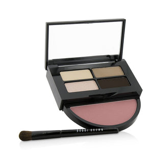 Instant Pretty Eye & Cheek Palette (3x Eye Shadow, 1x Metallic Eye Shadow, 1x Blush, 1x Mini Eye Shadow Brush) - -| Price Match Guaranteed™