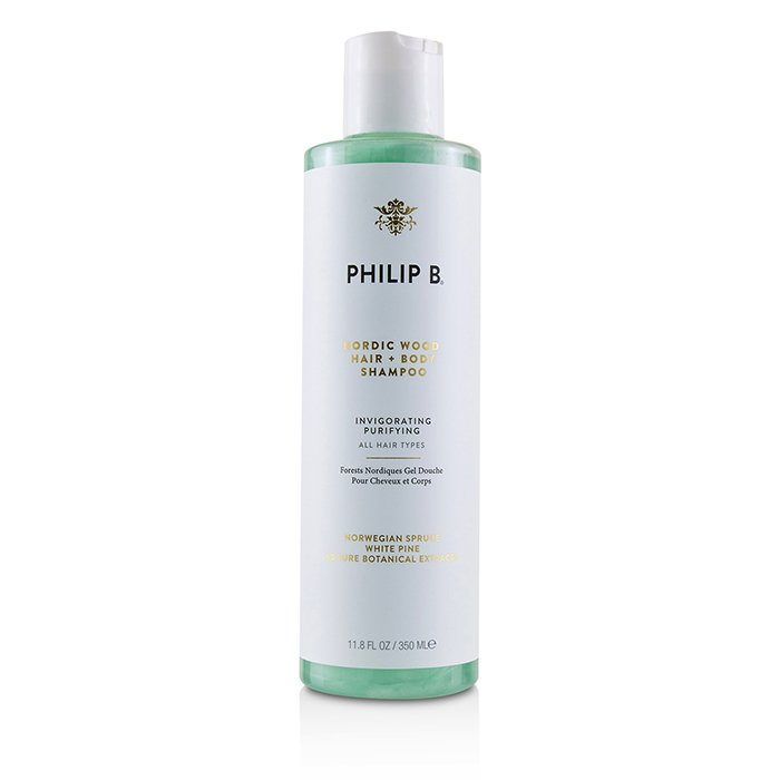 Nordic Wood Hair + Body Shampoo (invigorating Purifying - All Hair Types) - 350ml-11.8oz| Price Match Guaranteed™