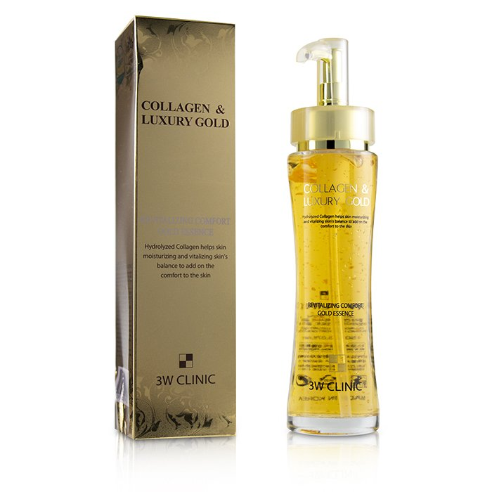 Collagen & Luxury Gold Revitalizing Comfort Gold Essence (box Slightly Damaged) - 150ml-5.07oz| Price Match Guaranteed™