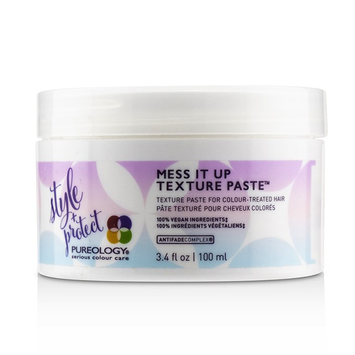 Style + Protect Mess It Up Texture Paste (for Colour-treated Hair) - 100ml-3.4oz| Price Match Guaranteed™