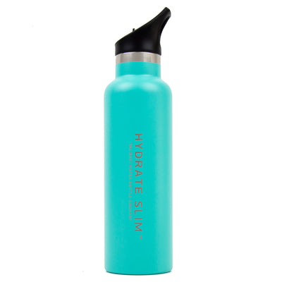hydrate slim aqua the best water bottle company
