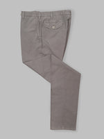 Grey seersucker cotton sport trousers