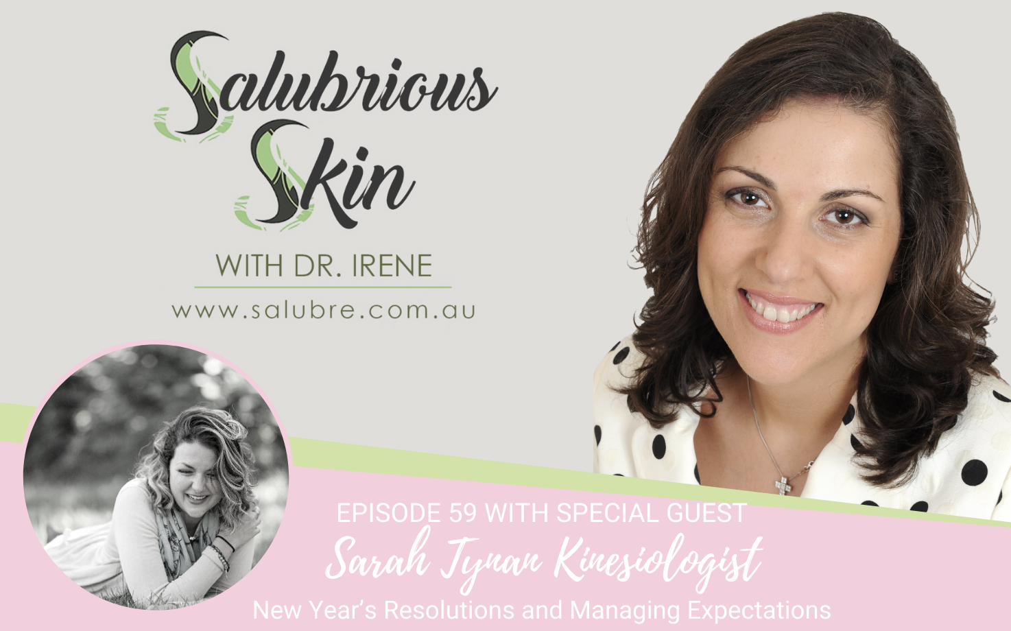 Podcast 59: New Year's Resolutions and Managing Expectations - Interview with Sarah Tynan