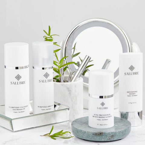 Acne skin solutions by Salubre