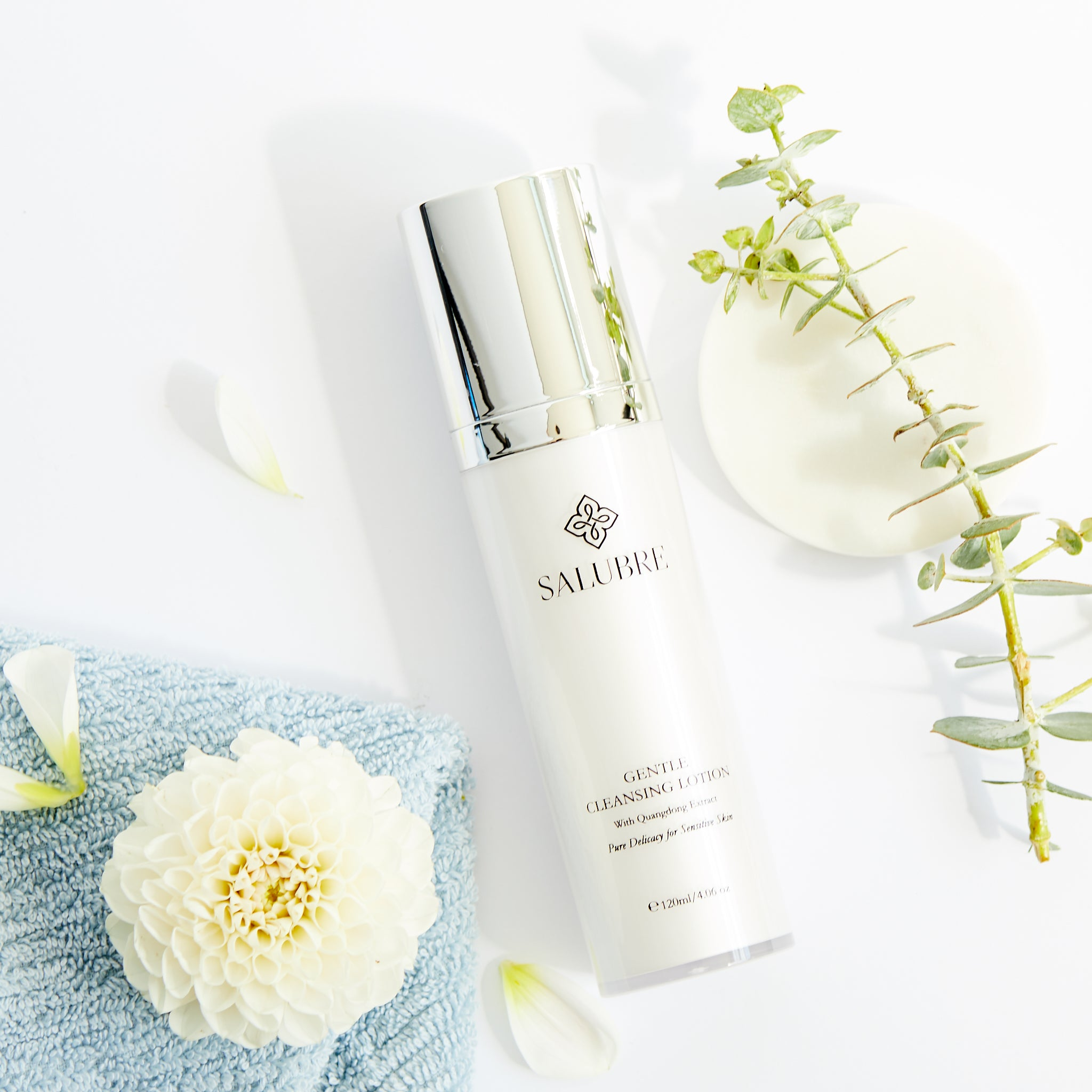Gentle Cleansing Lotion with Quangdong Extract