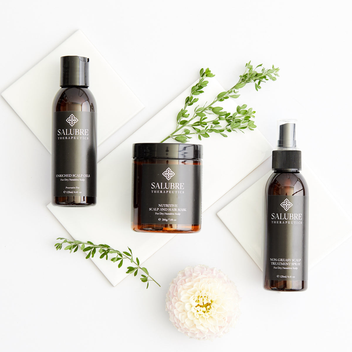 Enriched Scalp Oils