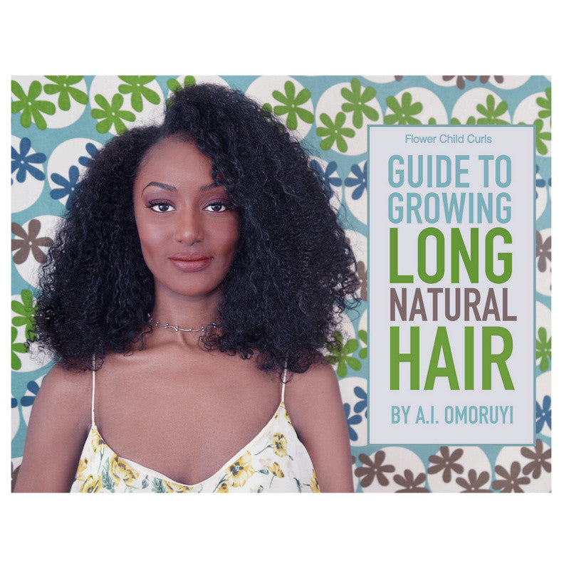 Guide To Growing Long Natural Hair REGIMEN ONLY : EBOOK