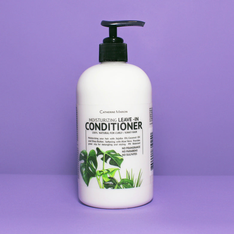 Moisturizing Aloe Vera Leave-In Conditioner 16 oz