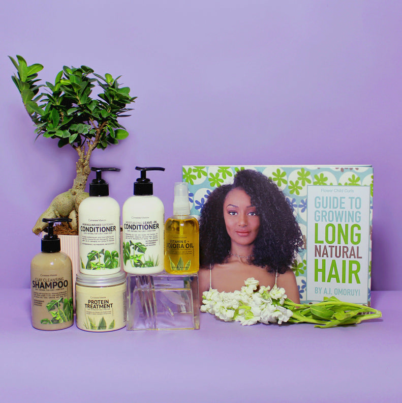 Natural Hair Growth Complete Kit Catherine Marion
