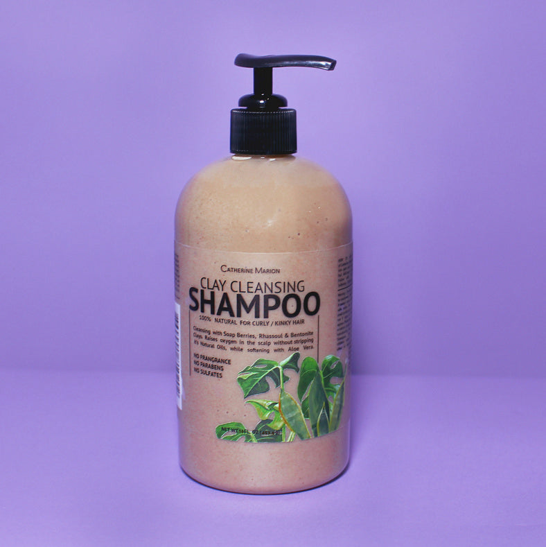 Earth Clay Cleansing Shampoo 16 oz